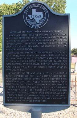 Yates-Methodist Protestant Cemetery