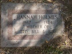 Hannah <I>Jackson</I> Holmes