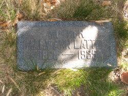 Mary Ann <I>McKinley</I> Latter