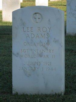 SGT Lee Roy Adams