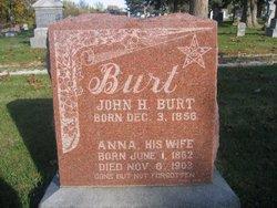 Anna George <I>Pierce</I> Burt