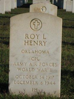 Roy L Henry