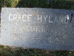Grace Hyland Hedrick 1882 1926 Find A Grave Memorial