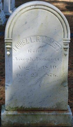 Louisa Lee Page <I>Millett</I> Bennett
