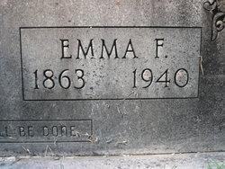 Emma F <I>Keene</I> Cochran