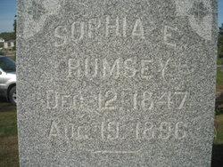 Sophia <I>Hinton</I> Rumsey
