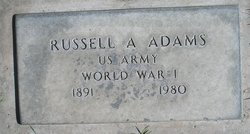 Russell Arthur Adams