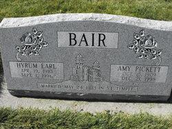 Amy <I>Pickett</I> Bair