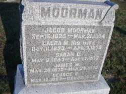 Jacob Moorman 1825 1904 Find A Grave Memorial