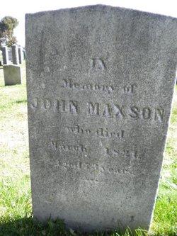 John Maxson Rhode Island