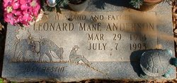 "Leonard ""ManE"" Anderson"