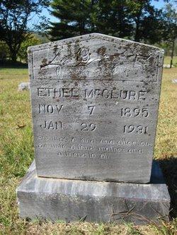 Verdie Ethel <I>Plott</I> McClure