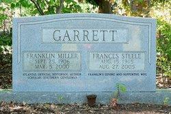 Frances <I>Steele</I> Garrett