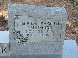 Imogene Marsette <I>Talkington</I> Hertler