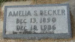 Amelia S Becker