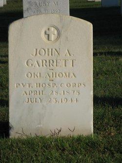 John A Garrett
