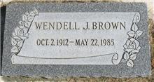 Wendell John Brown