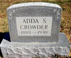 Adda S <I>Curtis</I> Crowder