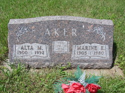 Alta Marie <I>DePue</I> Aker