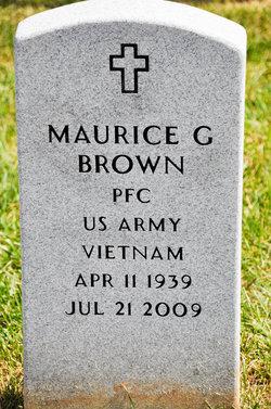 PFC Maurice G. Brown