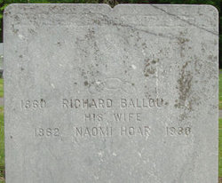 Naomi <I>Hoar</I> Ballou