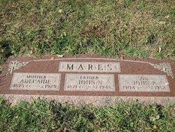 """Adelaide """"Addie"""" <I>Kunger</I> Mares"""