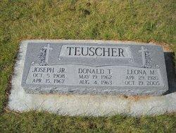 Leona May <I>Meyer</I> Teuscher