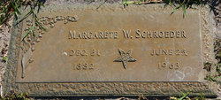 Margarete <I>Wolter</I> Schroeder