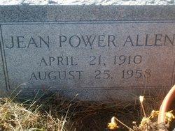 Jean <I>Power</I> Allen