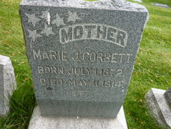 Marie <I>Johnson</I> Corbett