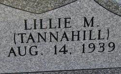 Lillie M. <I>Tannahill</I> Gillis