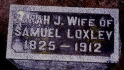 Sarah Jane <I>Livingston</I> Loxley