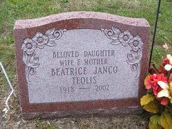 Beatrice A <I>Hawver Janco</I> Teolis