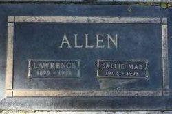 Sallie Mae <I>Clements</I> Allen