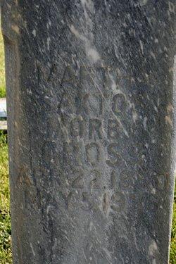 Martha <I>Saxton</I> Cross