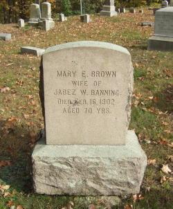 Mary Emily <I>Brown</I> Banning