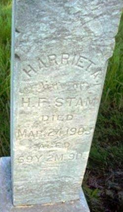 Harriet A <I>Mowry</I> Stam