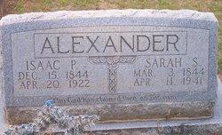 Sarah Sophoronia <I>Whistler</I> Alexander