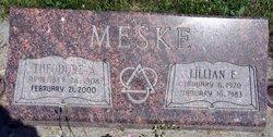 Lillian Ernestina <I>Sielaff</I> Meske