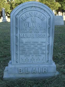 Hannah M. <I>Ratcliff</I> Blair