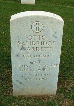 Otto Sandridge Garrett