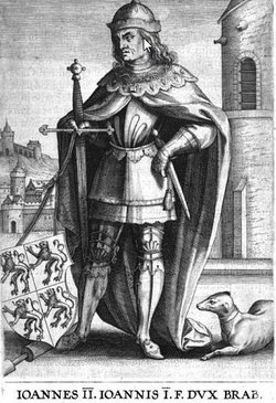 "Jean ""the Peaceful"" of Brabant, II"