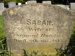 Sarah <I>Reeder</I> Hatcher