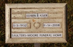 "Edwin Elton ""Ed"" Kiser"