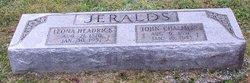 Leona <I>Headrick</I> Jeralds