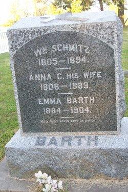 Anna Catherine <I>Dunewald</I> Schmitz