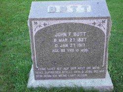 John F Butt