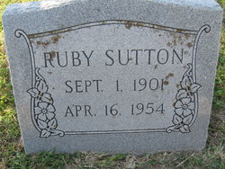 Ruby <I>Reed</I> Sutton