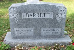 Sharon <I>Betz</I> Barrett