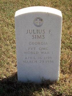 Julius F Sims